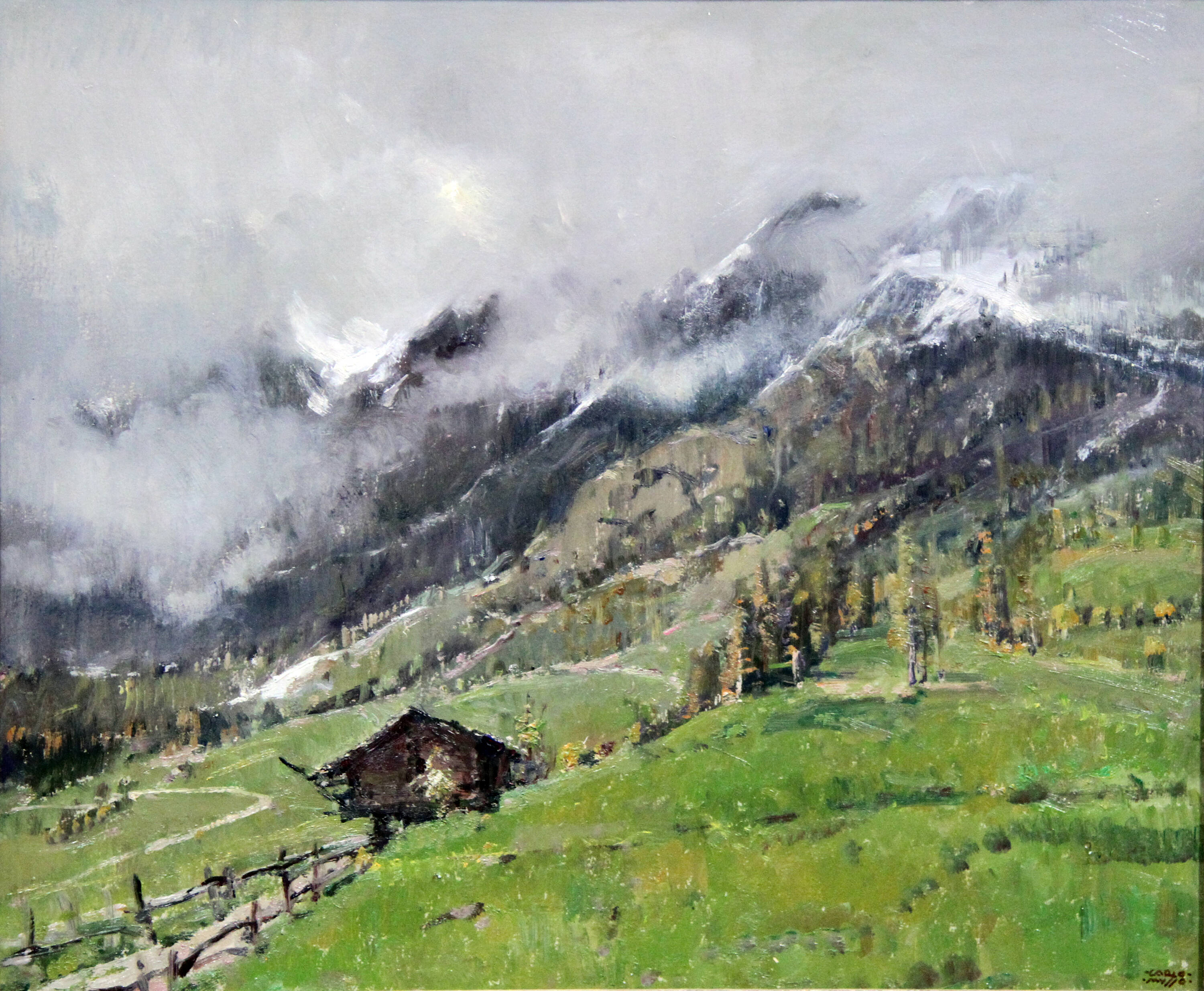 CARLO MUSSO - 'Novembre in Val d'Ayas'