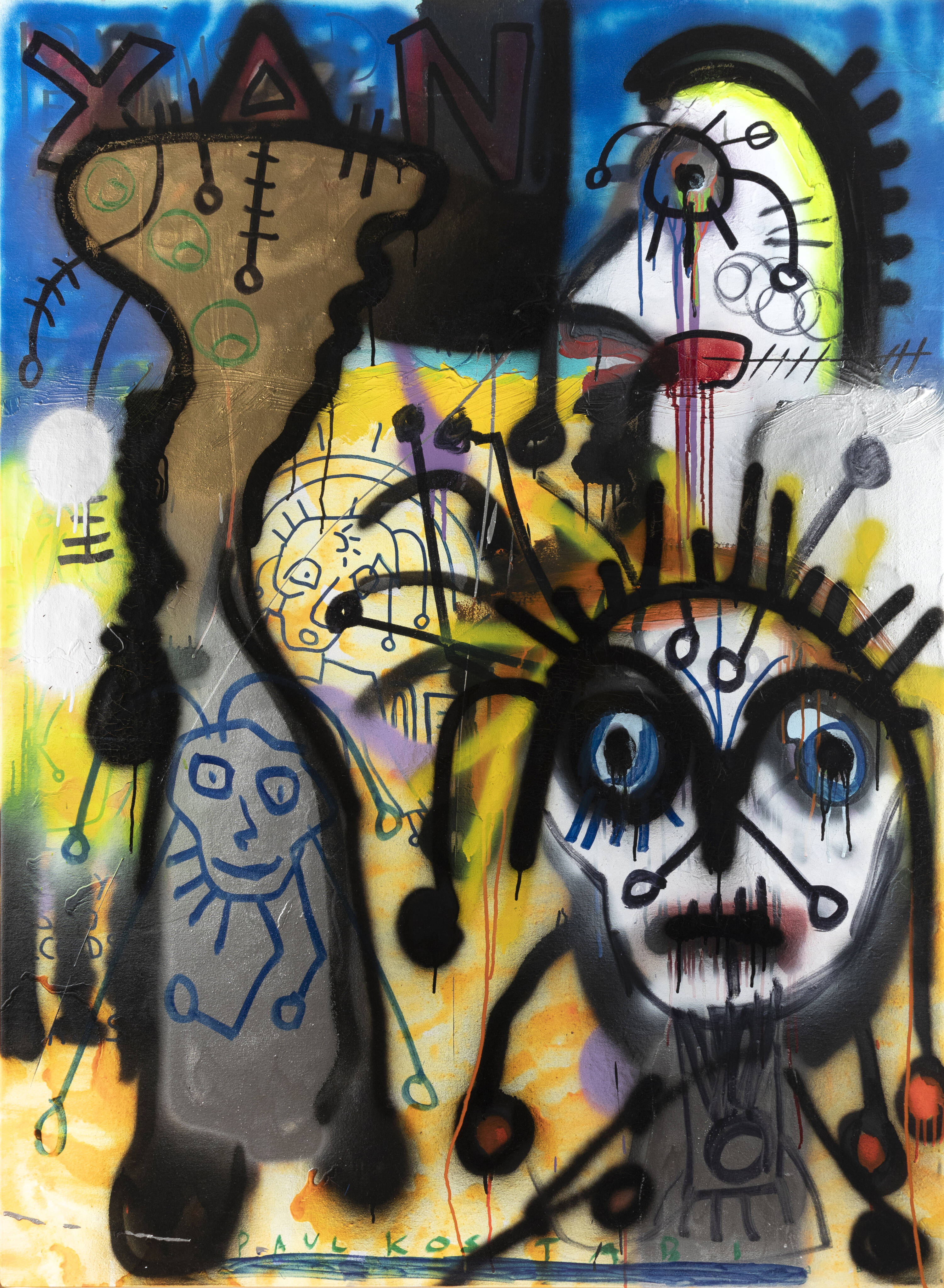 PAUL KOSTABI - 'Tapes and tapes' 2006